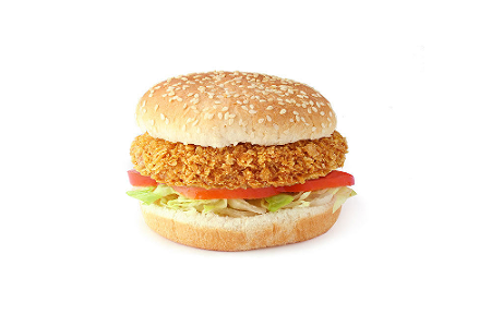 Foto Spicy chickenburger